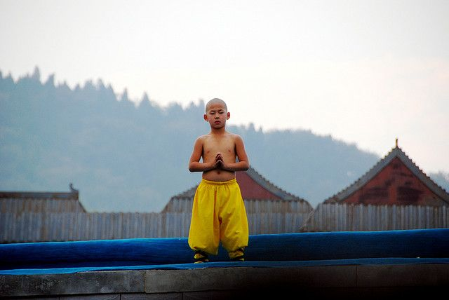 Shao Lin Kungfu kid by little bookworm, via Flickr