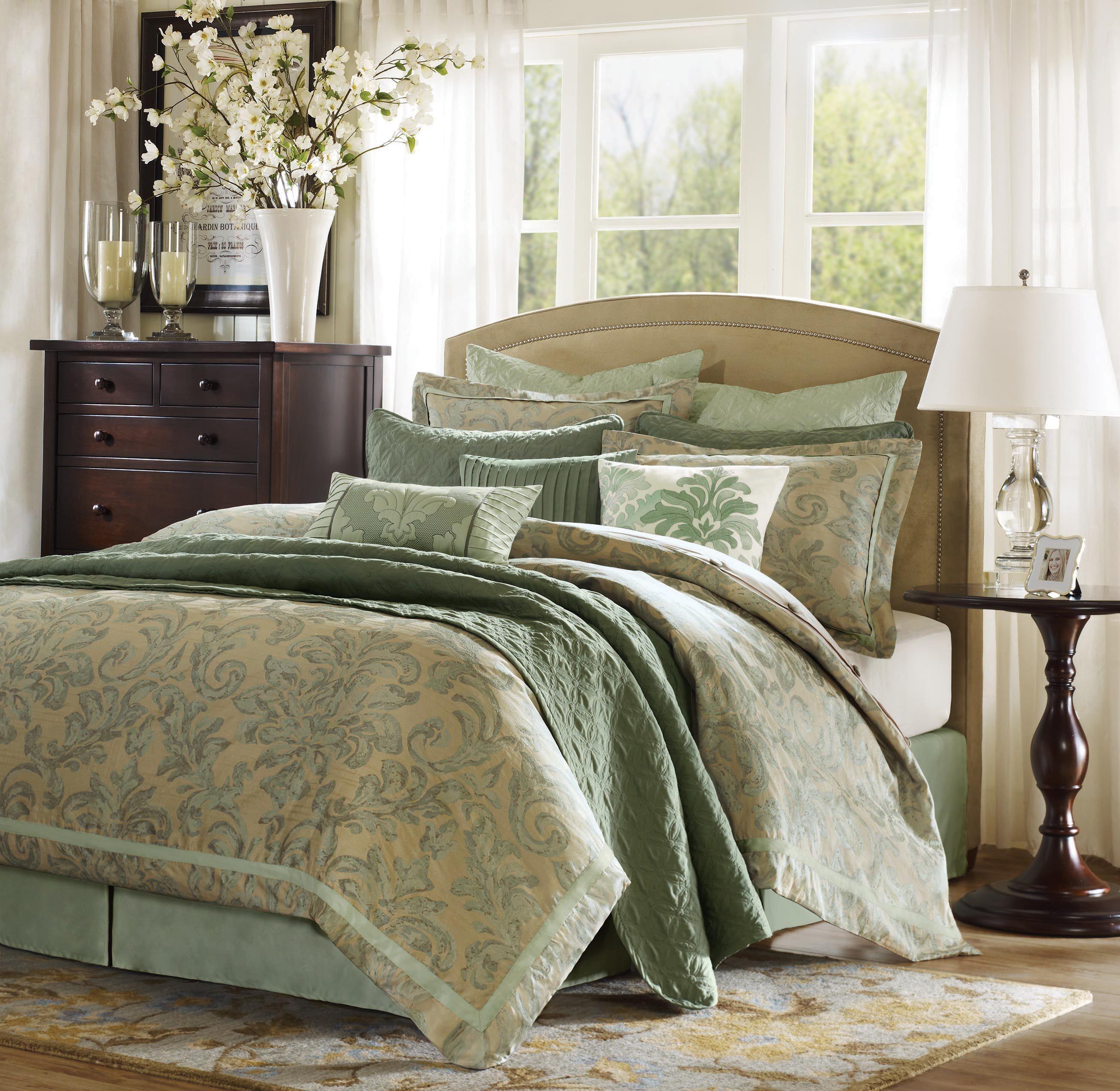3 Kind Of Elegant Bedroom Design Ideas Includes A: Hampton Hill Bedding @ Www.oLLiix.com