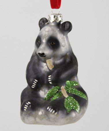 Loving this Giant Panda Ornament on #zulily! #zulilyfinds
