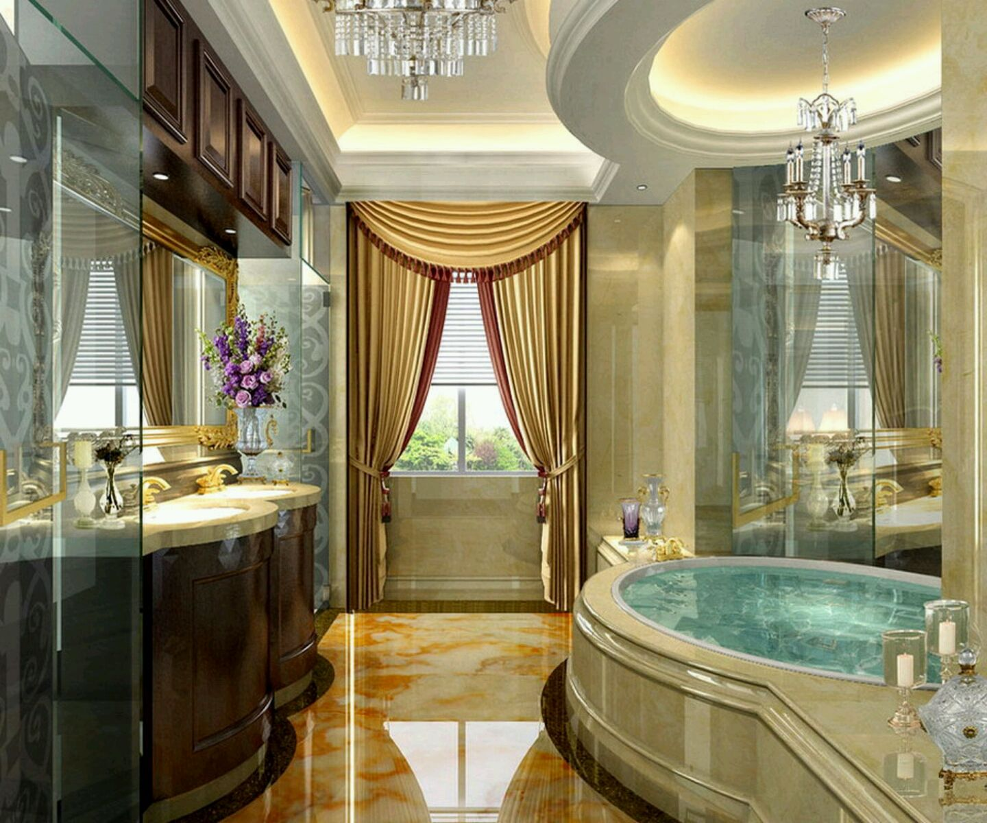 Luxury Bathroom Pictures Prepossessing Luxury Bathroom  Luxury Modern Bathrooms Designs Decoration Ideas Decorating Design
