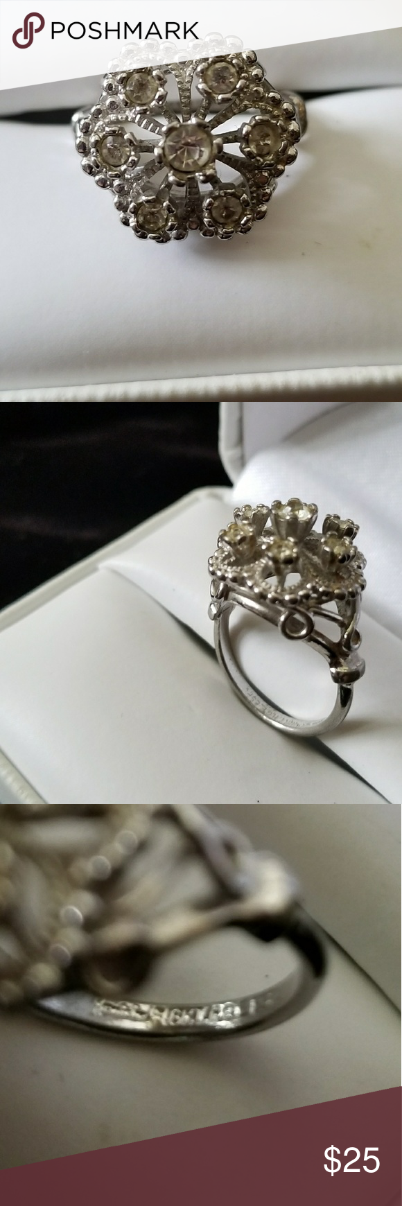 Ring Gorgous Ring Marked 18kt H G E Espo And A Signature Which I Can See Clearly Gold Plated Jewelry Rings Rings Jewelry Rings Jewelry