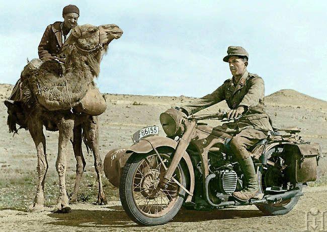 ww2 daf desert war 1942 1943 segunda guerra mundial moto militar guerra. Black Bedroom Furniture Sets. Home Design Ideas