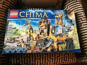 LEGO CHIMA THE LION CHI TEMPLE-70010 GREAT GIFT BOY/GIRL BRAND NEW LAST ONE