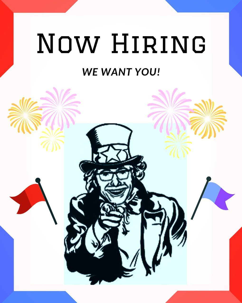 Now Hiring Full and Part time Employees for a new ...