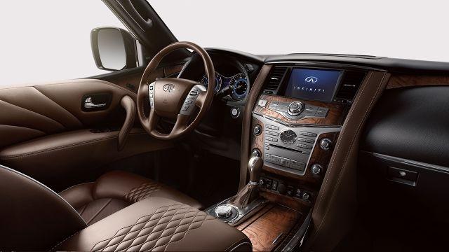 2017 Infiniti Qx80 Interior Design Luxury Suv Infiniti Suv