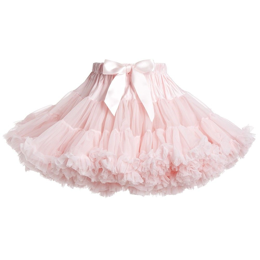 36c40ba8e0 Rose Pink Chiffon Tutu Skirt, Angel's Face, Girl | Baby | Pink tutu ...