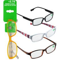 74d38ddae5e2 Those yellow reading glasses have me dying!  Want. Also