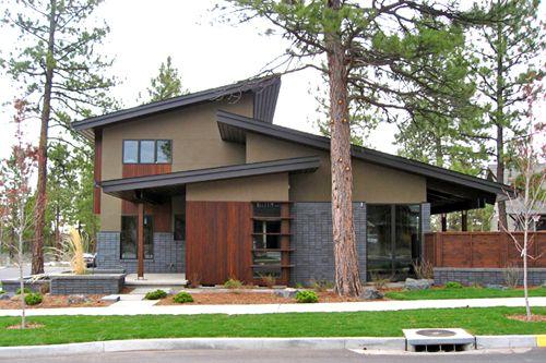 Modern Architecture In Northwest Crossing In Bend Oregon