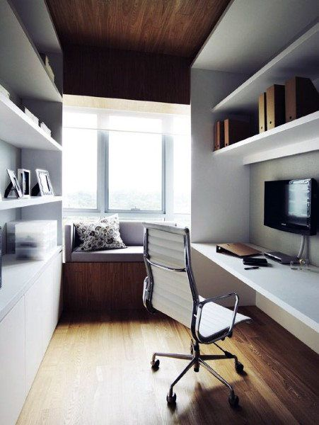 Simple Small Home Office Ideas For Men My Office Pinterest