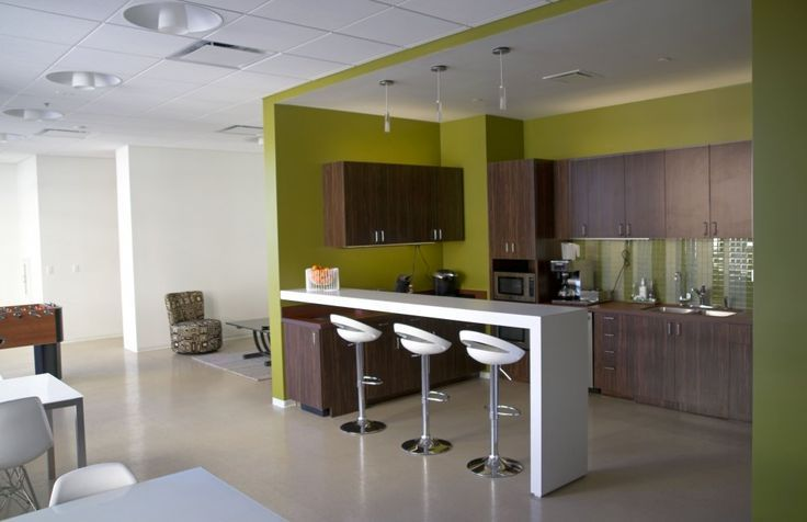 Corporate Offices, Offices Breaking Room, Rec Room, Offices Kitchens,  Breakfast Bar,