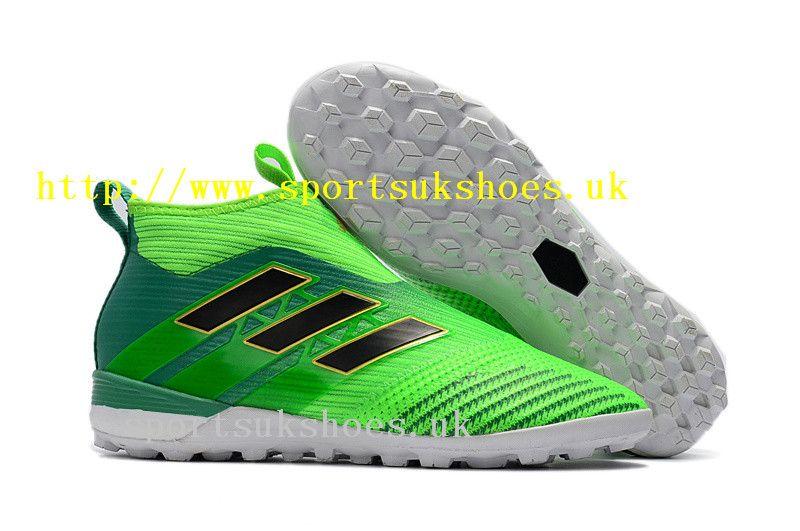 0fd95b7f91c Best Online Adidas Kids ACE Tango 17+ Purecontrol TF Football Shoes - Solar  Green