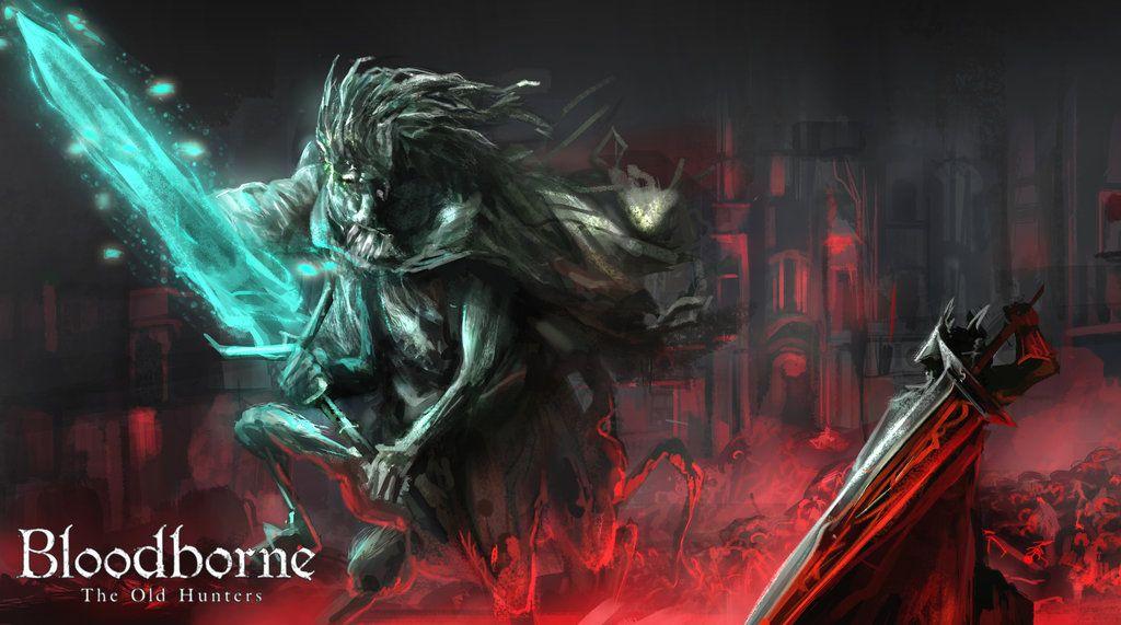 Ludwig The Holy Blade Bloodborne Art Dark Souls Game Bloodborne