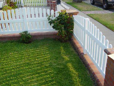 Vinyl Picket Fence Orange County Ca Vinyl Fencing