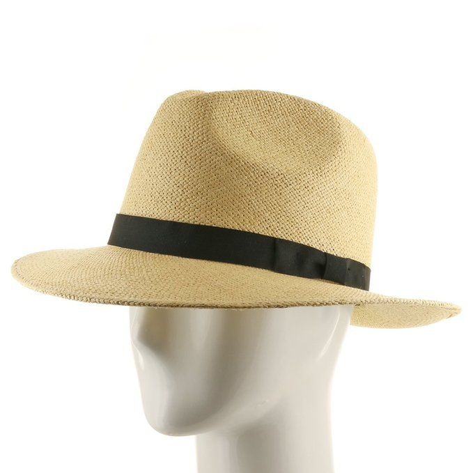 FEDORA PACKABLE FOLDABLE Panama Straw Hat CLASSIC 7 3 8 at Amazon Men s  Clothing store  24abda5ee5d