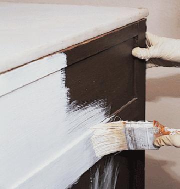 Pintar un mueble viejo proyectos con palets pinterest - Pintar muebles de formica ...