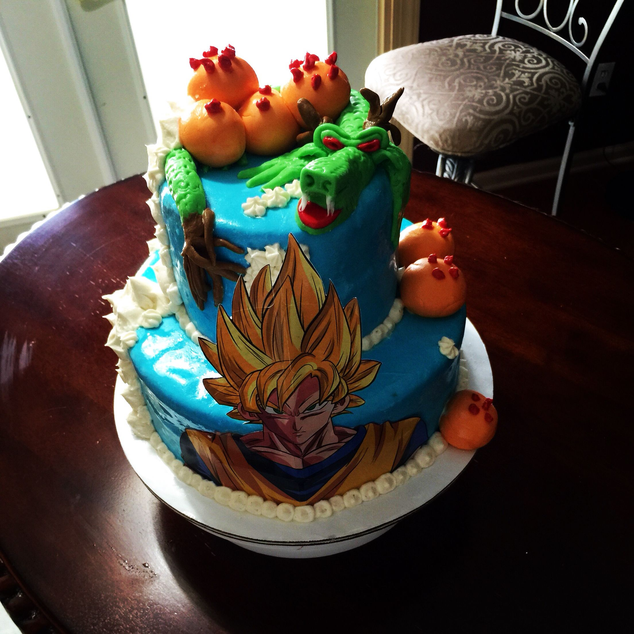 Dragon Ball Z Cake Cakes Ive Baked Pinterest Dragon ball