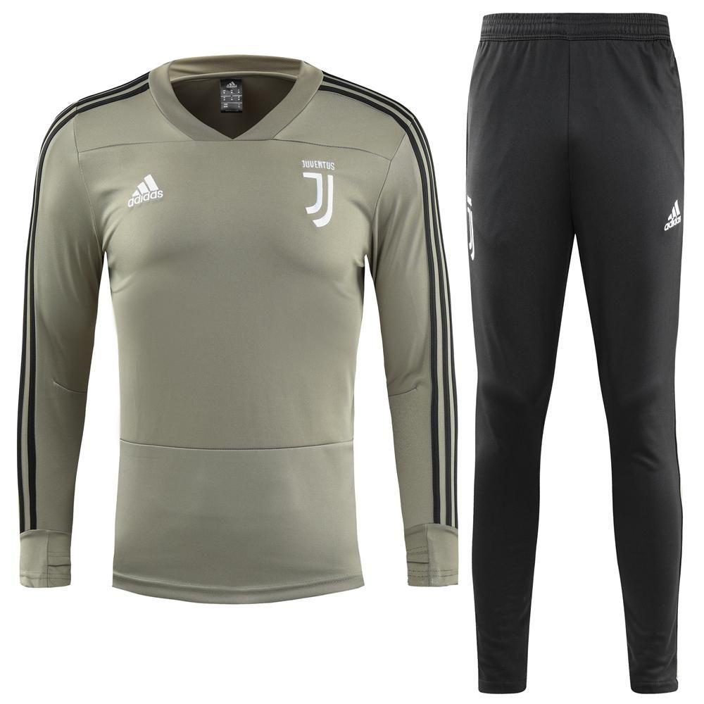 competitive price 92cd3 5d510 Juventus F.C. Adidas 2018 - 19 TRAINING TRACKSUIT FÚTBOL ...
