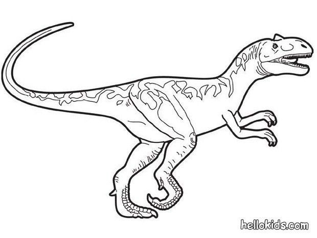 Dinosaur Coloring Pages Prehistoric Allosaurus Dinosaur Coloring Pages Dinosaur Coloring Coloring Pages