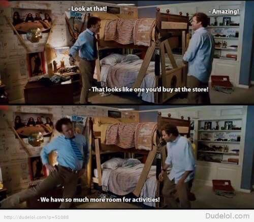 So Much Room For Activities Step Brothers Quotes Favorite Movie Quotes Funny Movies
