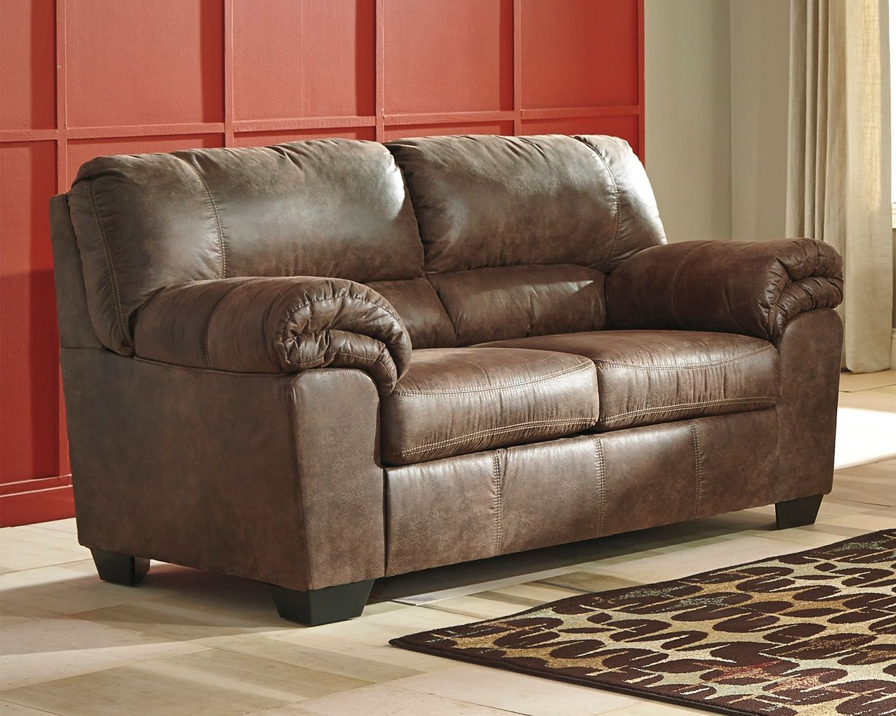 Bladen Loveseat Coffee In 2020 Leather Furniture Love Seat Furniture