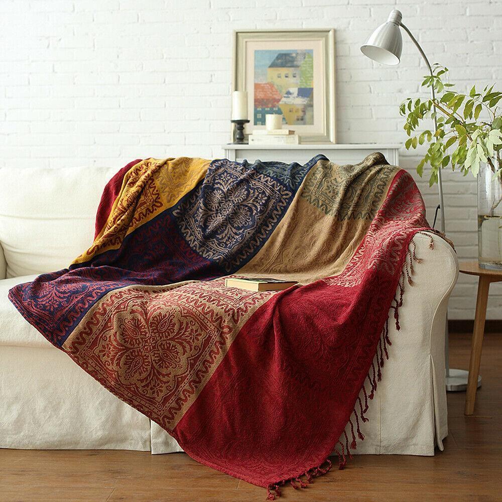Xlarge Bohemian Bedspread Sofa Throw Blanket Sofa Blanket Sofa Throw