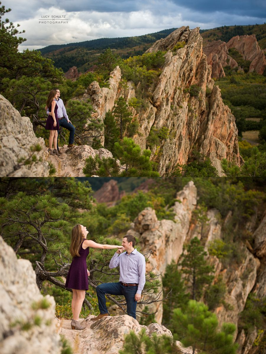 Roxborough State Park Engagement Photos Best Colorado Photographer Lucy Schultz Photography