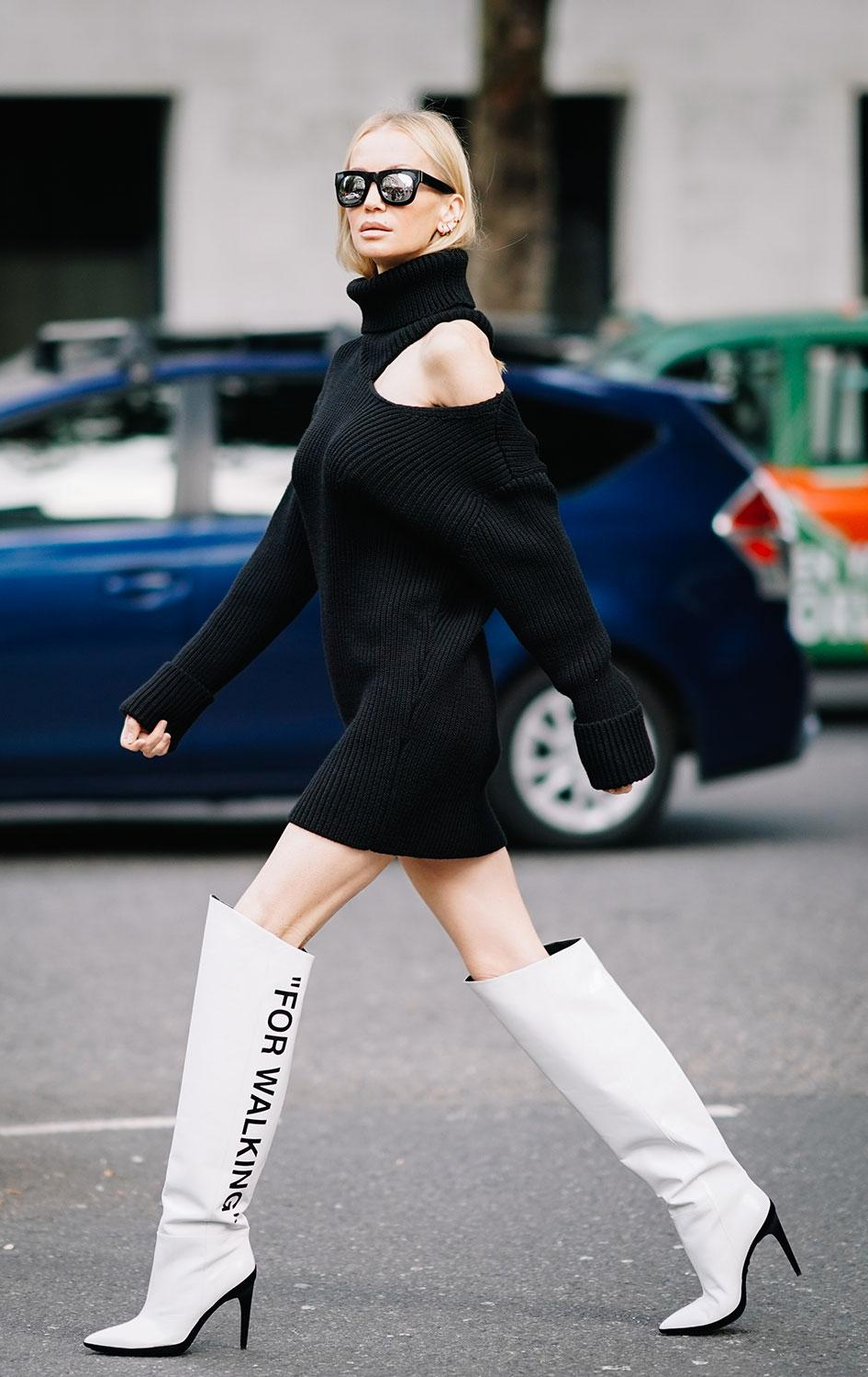 The best street style at london fashion week spring london