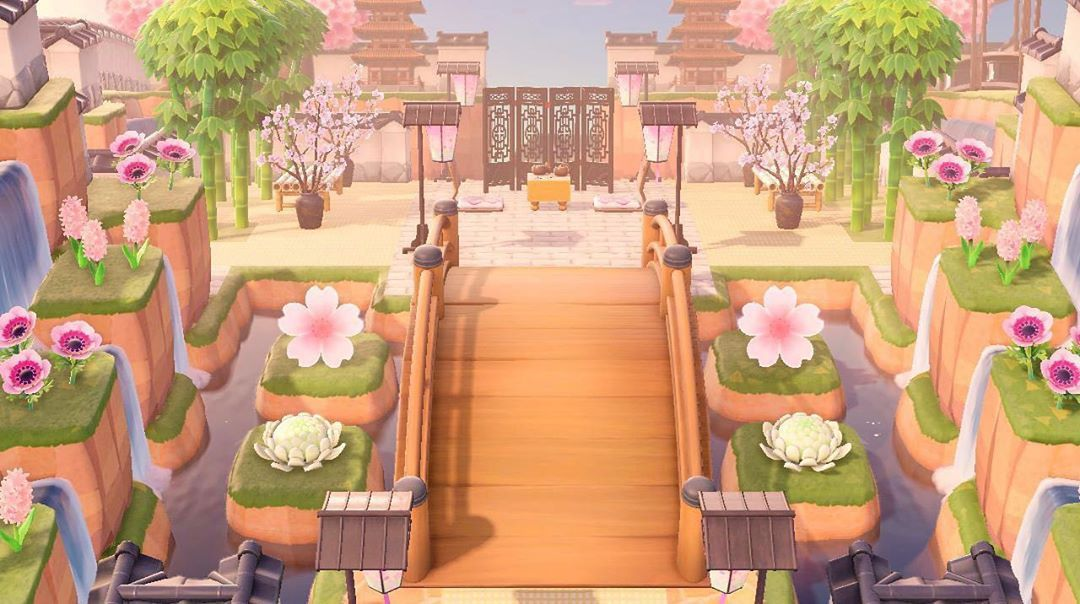 Animal Crossing New Horizons On Instagram This Island Entrance Looks Amazing Credit To Gerdenia89 Animal Crossing Animal Crossing Game Animal Crossing Qr