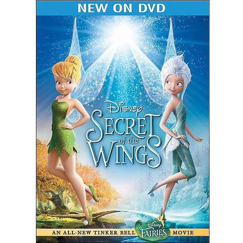 Secret Of The Wings Dvd Walmart Com Walt Disney Movies Secret Of The Wings Disney Secrets