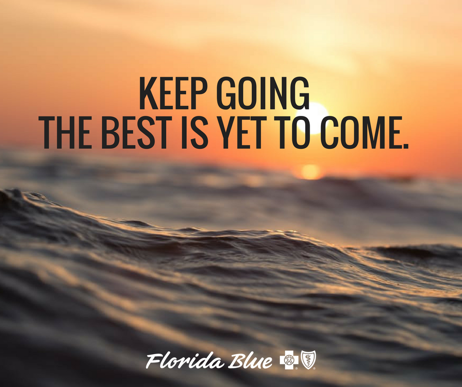 Sometimes you just have to keep going, and know the best ...