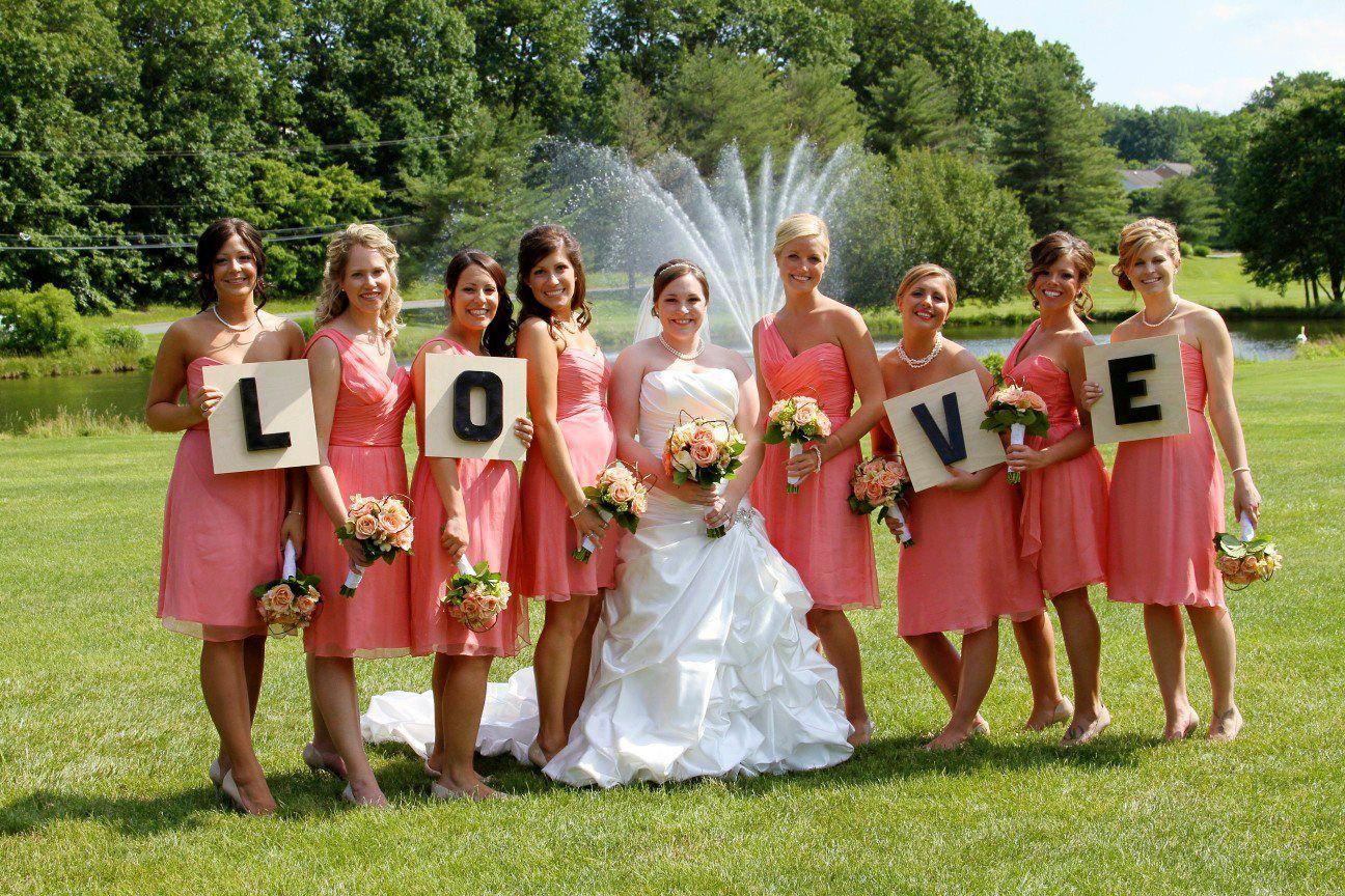 Guava wedding dresses  Coral Wedding Party  Coral Wedding  Pinterest  Weddings Wedding