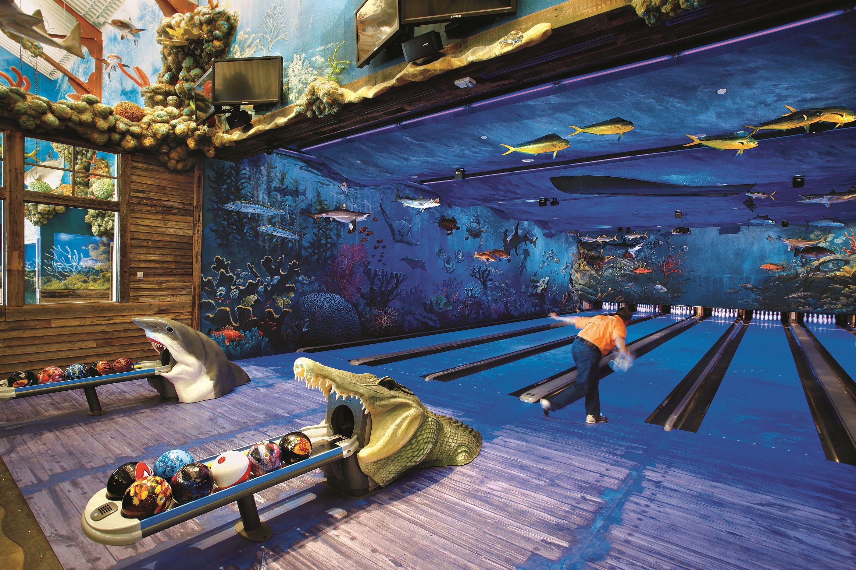 Bowling Alley At Bass Pro Shops Florida Vacation Panama City Beach Vacation Florida Travel
