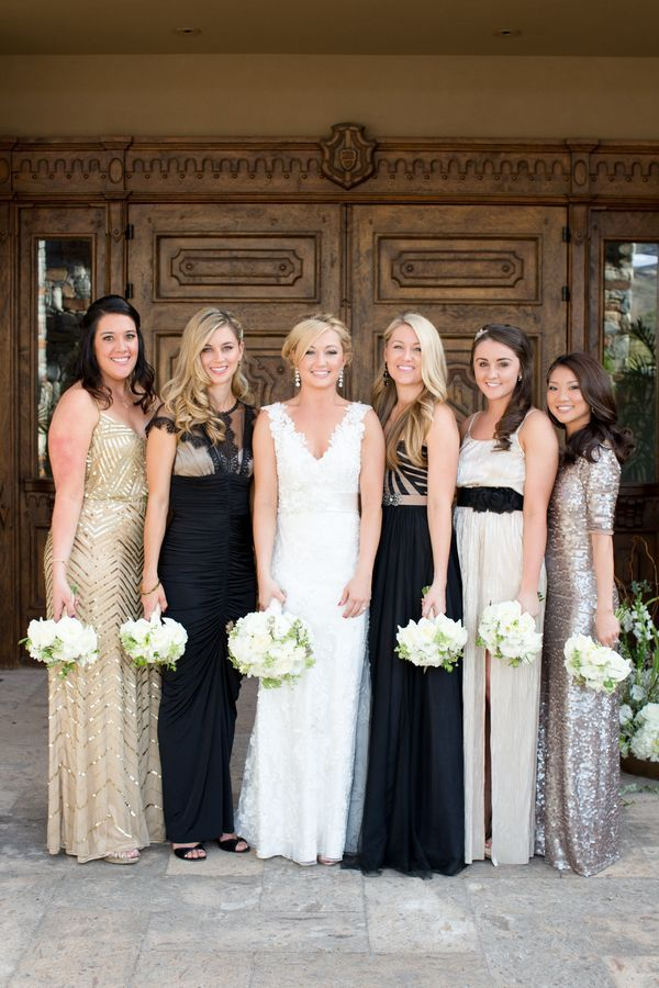 Classic Arizona Country Club Wedding | Gold