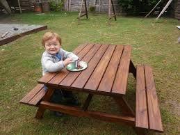 Medidas para hacer un banco y mesa de madera para el - Mesas de arquitectura ...
