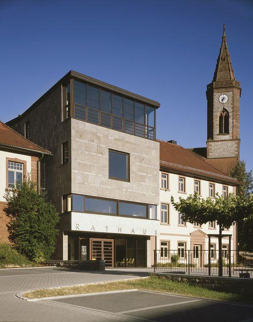 Architekturbüro Heidelberg rathaus seckach ecker architekten rathaus buchen