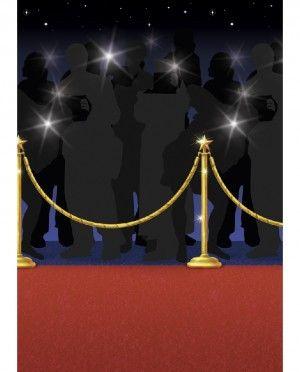 Set De Escenario Alfombra Roja Decoraciones De Hollywood Fiesta De Cine Tema De Hollywood