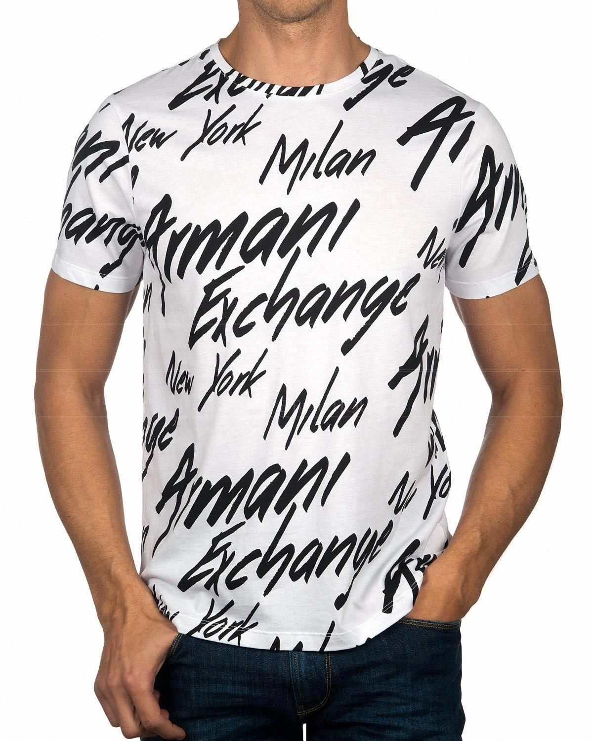 e9de705f8465 White ARMANI EXCHANGE © T-Shirt ✶ City