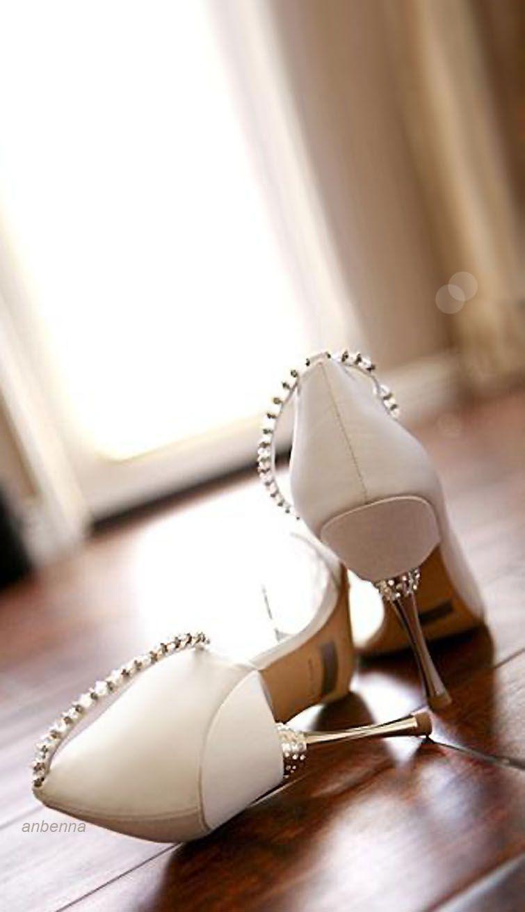 By Badgley Mischka White Wedding Shoes