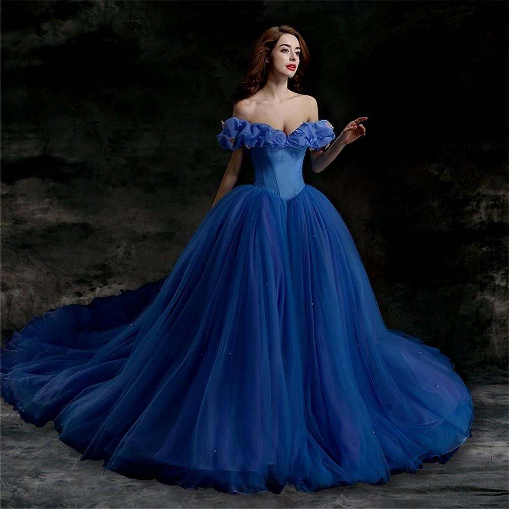 of the research blue wedding dress meaning