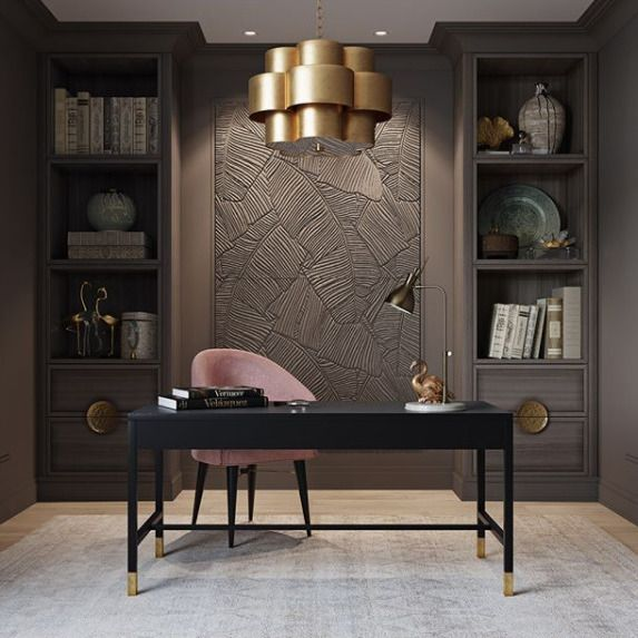 24 Luxury And Modern Home Office Designs: Pin By Shannon Smith On Sophisticated Studies, Home