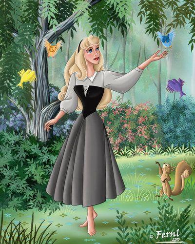 Aurora .... pra quem nao sabe... é o nome da bela adormecida