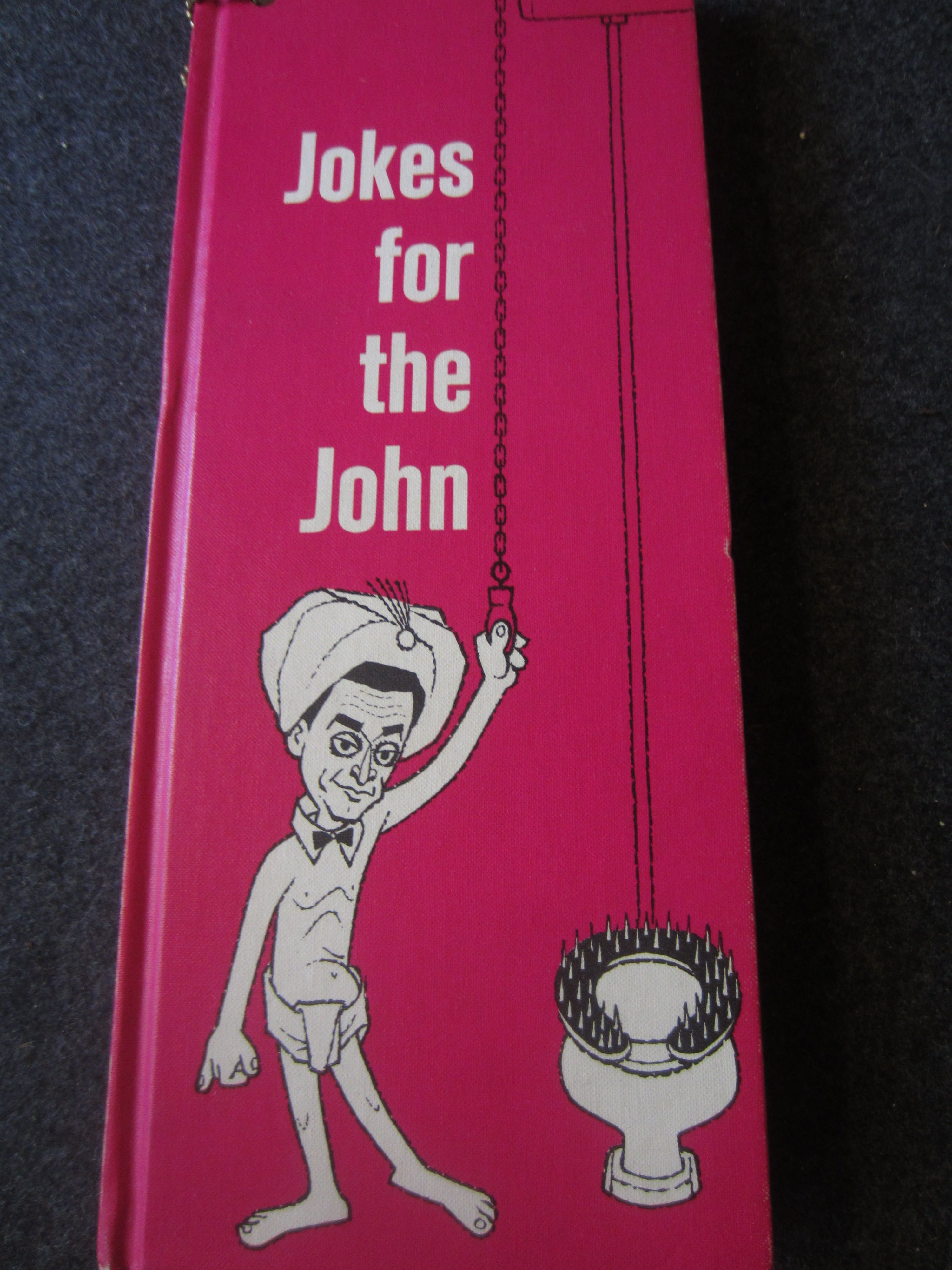 1961 Book Jokes For The John Adult Funny Jokes Kitschy