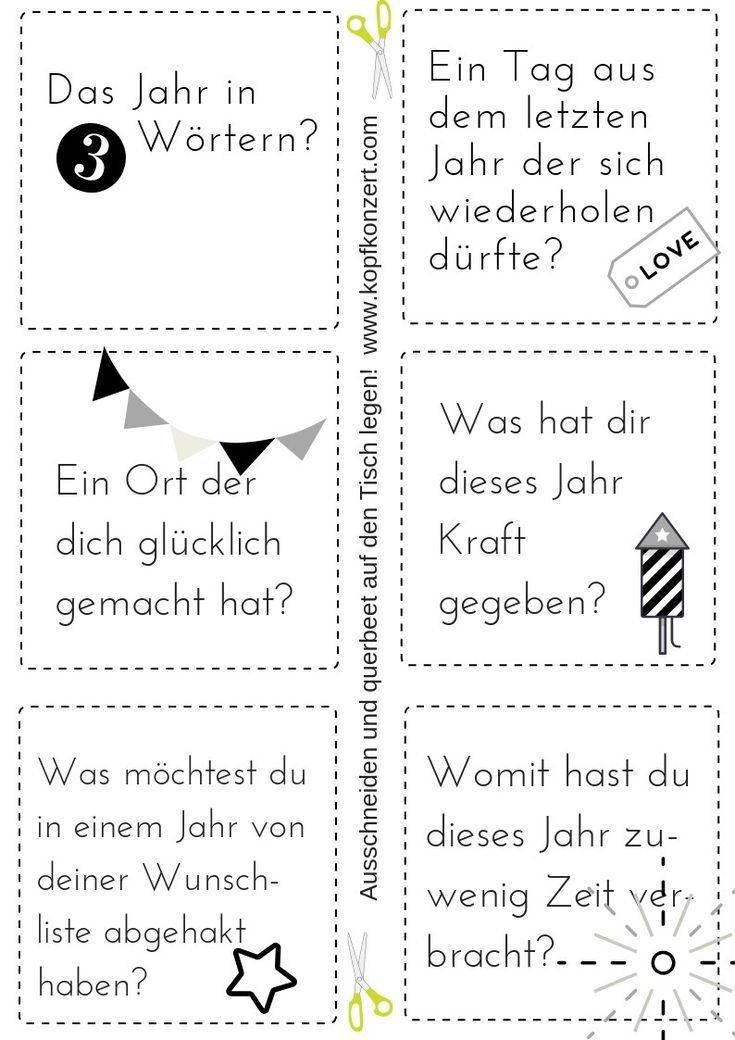 Photo of Silvester-Partyspiel, Tischdekoration, Silvester & Freunde, Fragen an Silvester