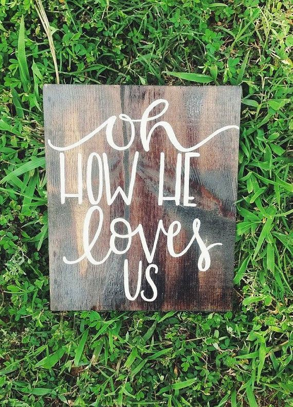 Wooden Decorative Signs Prepossessing Rustic Wooden Sign  Christian Sign Hand Painted Sign Rustic Design Inspiration
