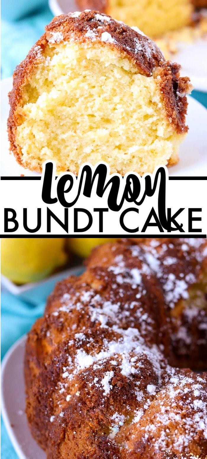 Lemon Bundt Cake Lemon Bundt Cake has a moist crumb and is full of lemon flavor with fresh lemon ju