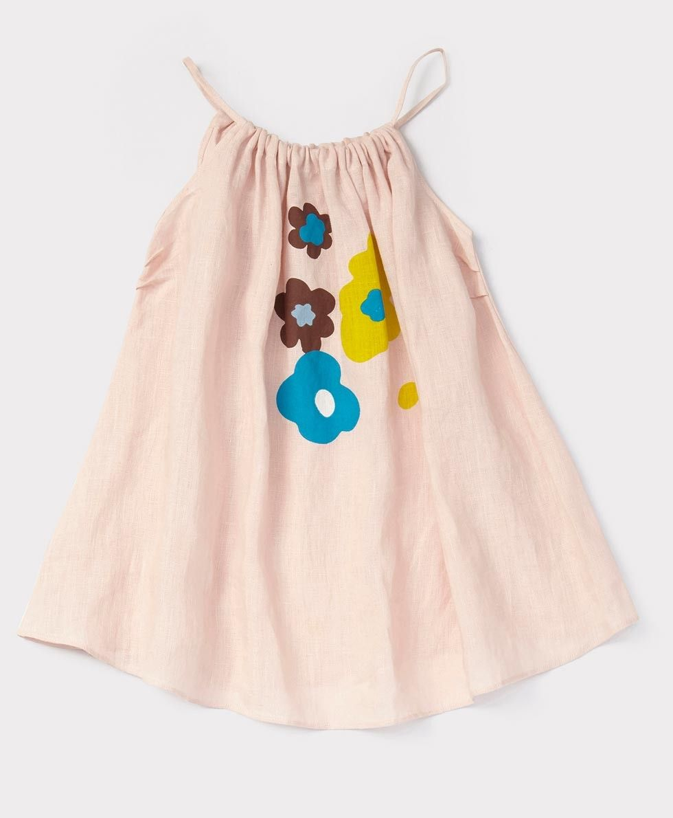 Anise Dress, Dusky Pink, 3y