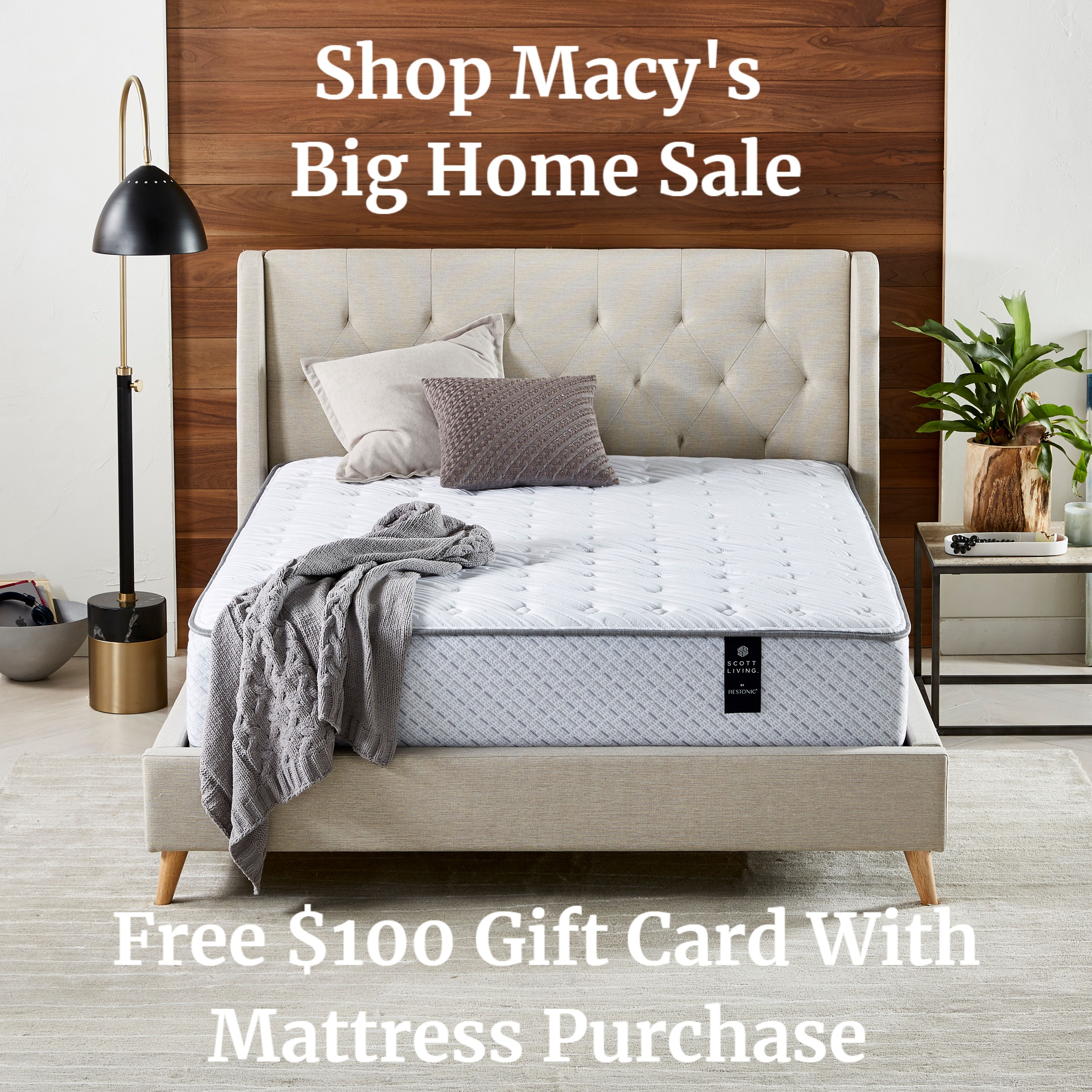 Free 100 Gift Card With Mattress Purchase Free White Glove