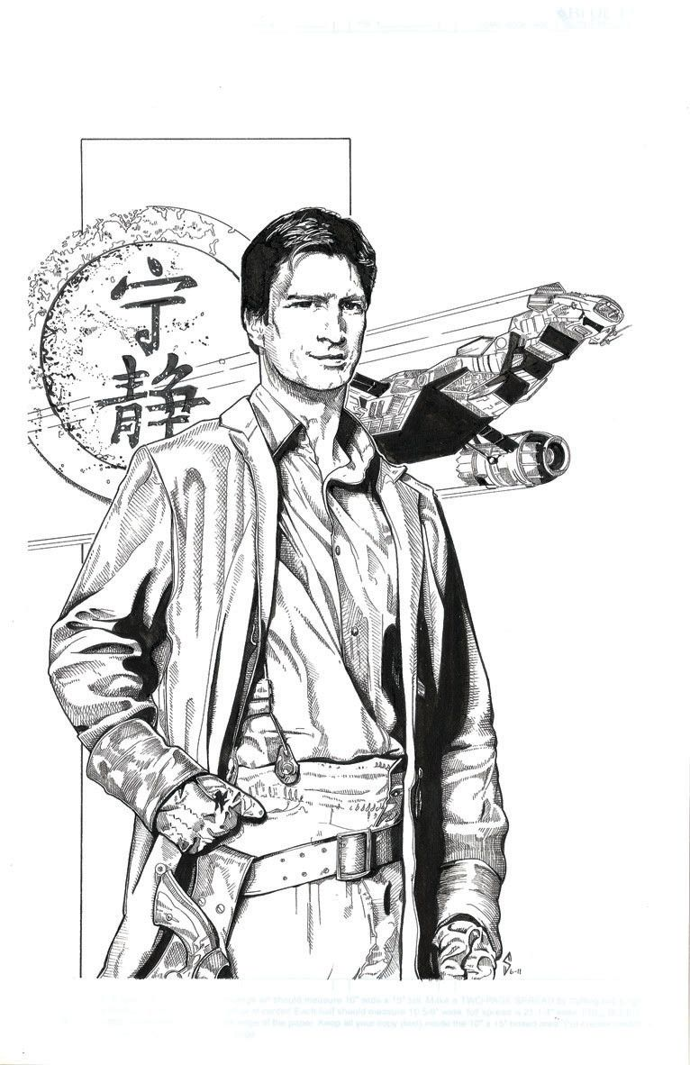 The Coolest Firefly Art In The Verse In 2020 Firefly Art