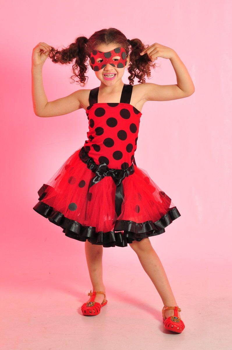 10f06a6bf FANTASIA LADYBUG Linda fantasia da Ladybug, ótima para sua princesinha  arrasar na festa. Produto