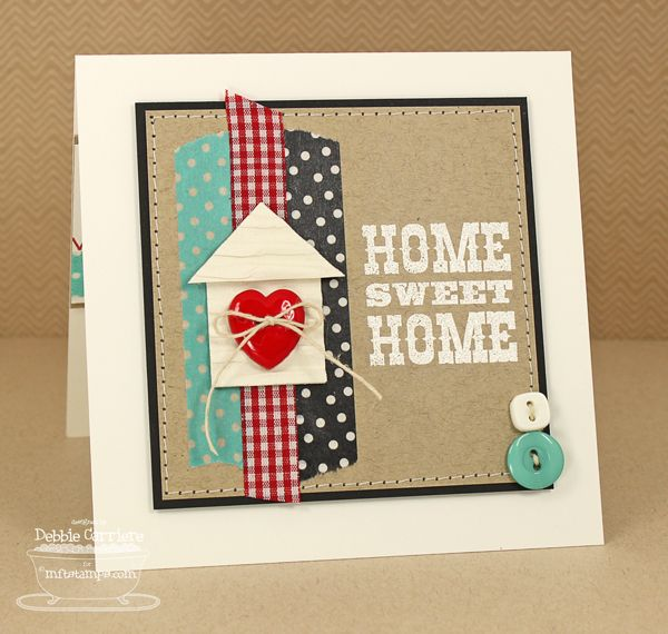 Home Sweet Home By Mom2n2 Cards And Paper Crafts At Splitcoaststampers Housewarming Card Cards Handmade Welcome Card
